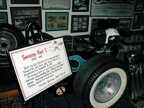 Ocala, FL: Swamp Rat/Drag Racing Museum