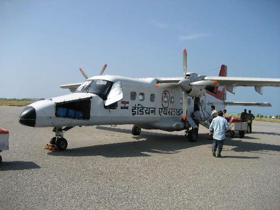 Lakshadweep, India: Aircraft to Agatti