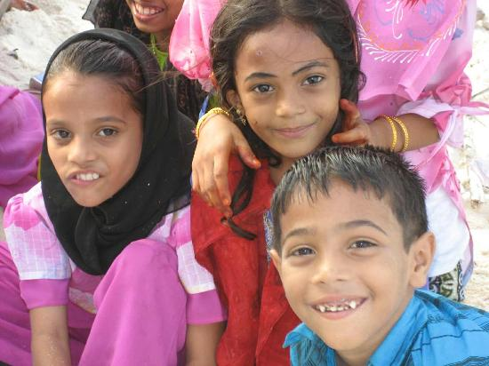 Lakshadweep, India: Local Children