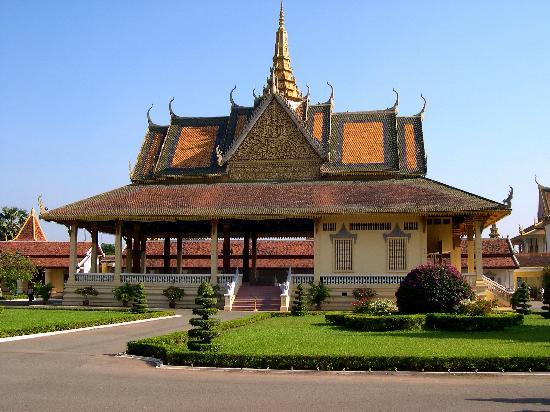 Πνομ Πεν, Καμπότζη: Grounds of Royal Palace, Phnom Penh