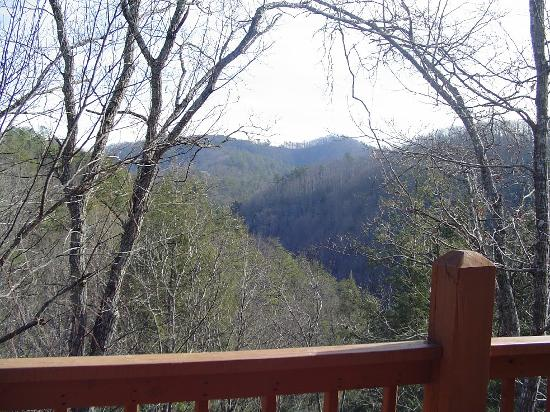 View From Our Cabin In Wears Valley Picture Of Pigeon Forge Sevier County Tripadvisor