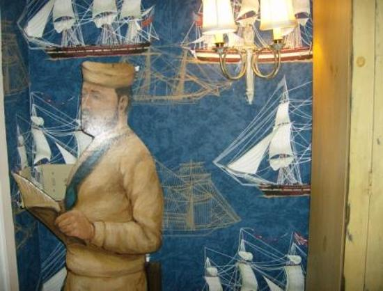 Sea Captain's House: some of the decor near the door