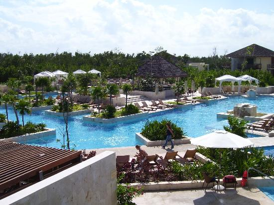 Fairmont Mayakoba : piscine principal