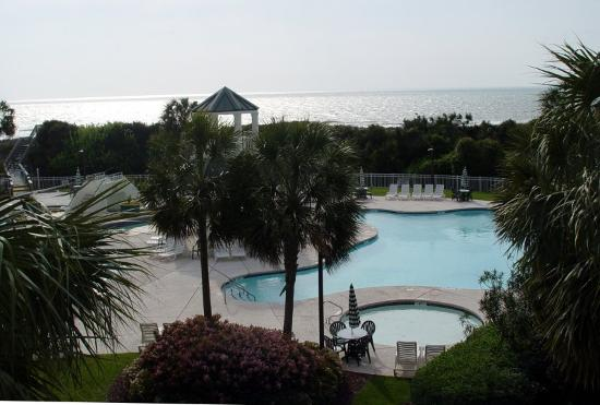 Litchfield Beach & Golf Resort: view from foom at Bridgewater