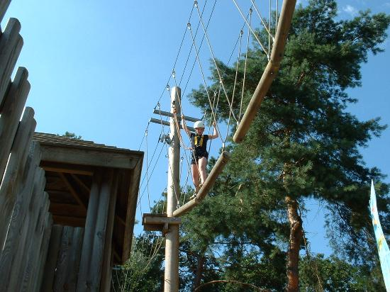 Center Parcs De Kempervennen: high assault course