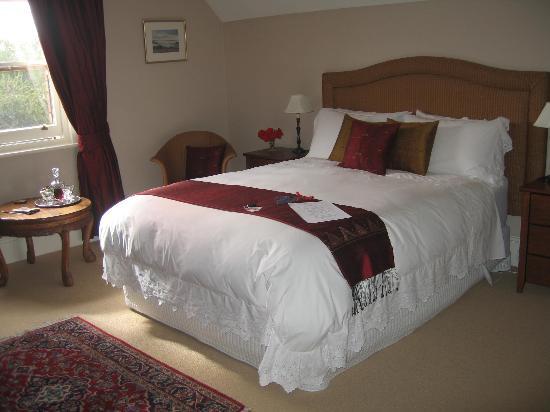 Bellerive House: The Wellington Room, overlooking Mt Wellington