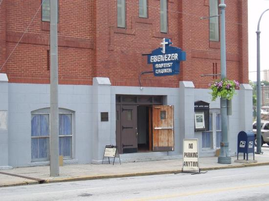 Atlanta, GA: Outside Ebenezer Baptist Church