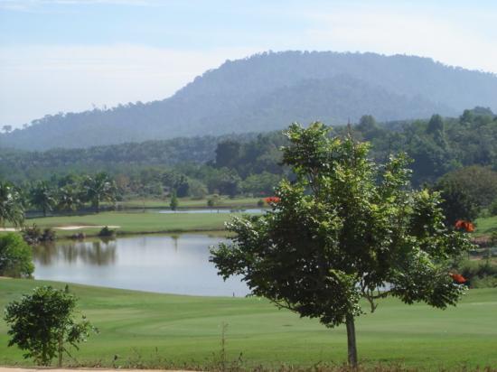 Lumut, Malasia: Vue partielle du golf