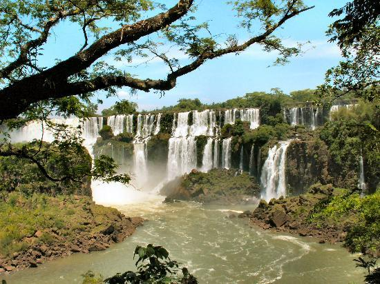 Iguazu National Park, Argentinië: One of the many outstanding views