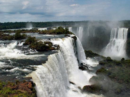 Iguazu National Park, Argentina: Another view from the Brazilian side