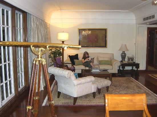 The Oberoi Amarvilas: living room