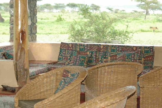 Ndutu Safari Lodge : Lounge