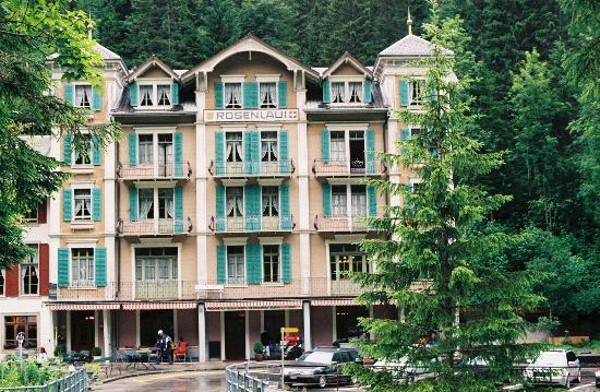 Rosenlaui Hotel : Frontage - Hotel Rosenlaui