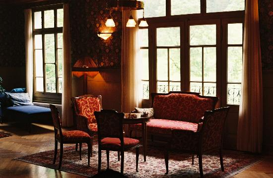 Rosenlaui Hotel : Lounge (one of two)