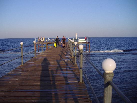 LTI Akassia Beach: the pier