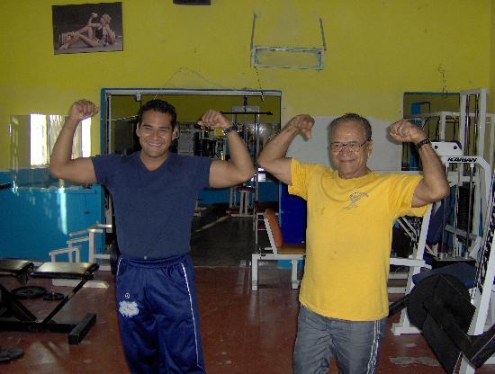 Hotel Villa Bejar and Spa Tequesquitengo: Zeus and his champion father
