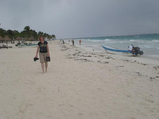 Posada Luna del Sur : Tulum Beach near El Paraiso Beach Club