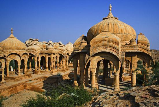 Jaisalmer, India: Kenotaphen_1