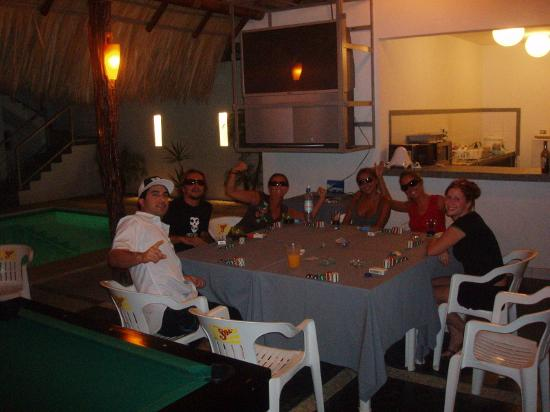 Fun nights under the palapa