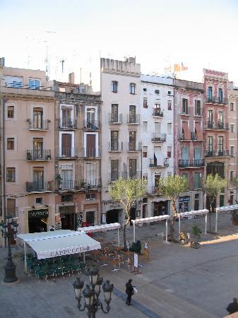 View from Hotel Placa de la Font