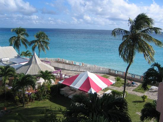 side veiw of barbados beach club