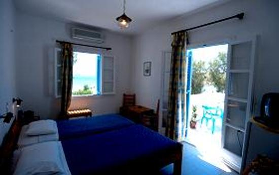 Hotel Asteria: This was our room