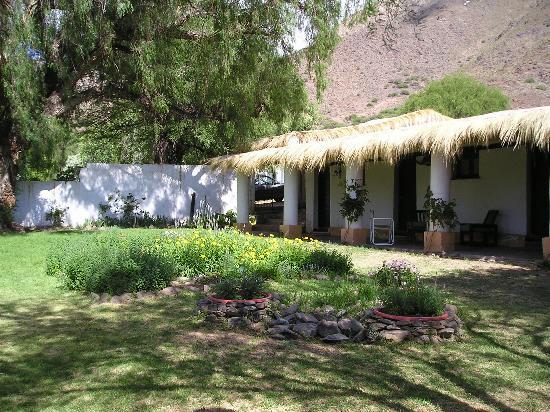 La Paya: The courtyard and porch