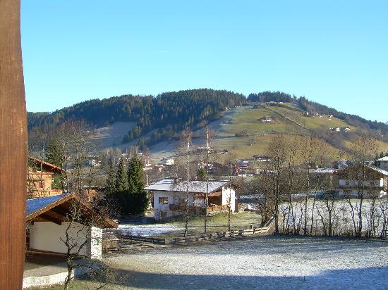 Niederau, Österreich: View from our hotel room