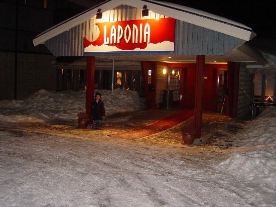 Hotel Laponia: Hotel Entrance