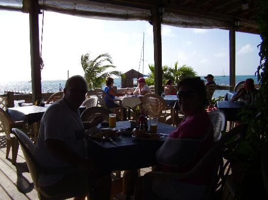SunBreeze Hotel: the view from the restaurant
