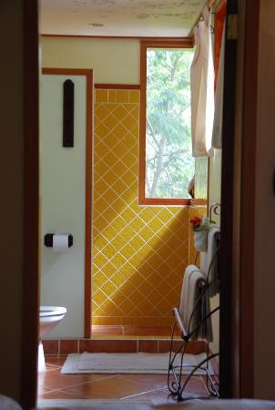 The Lodge at Chaa Creek: Amazing bathroom.