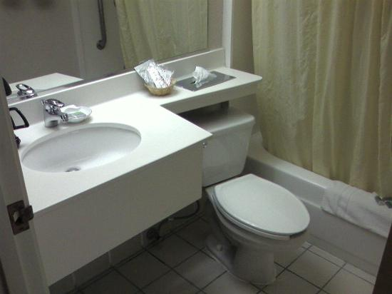Fairfield Inn & Suites San Jose Airport: Clean bathroom