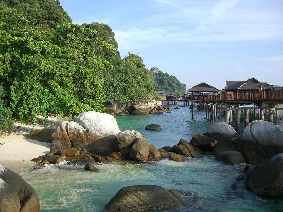 Pangkor Laut Resort: Stilt villas