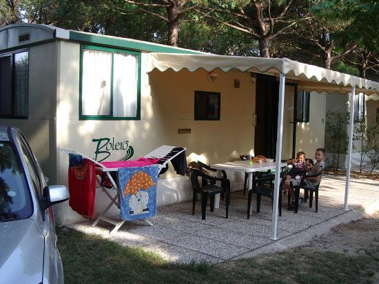 Union Lido Camping Lodging Hotel: Bolero mobile home