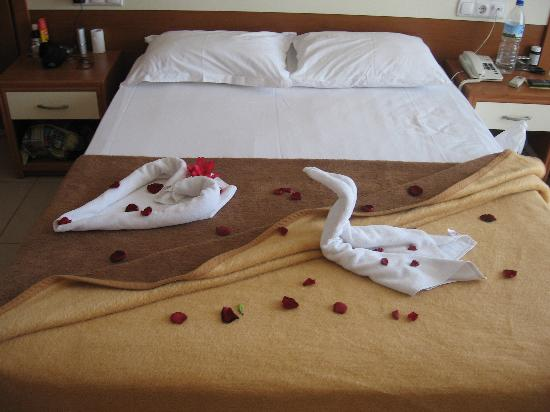 Sea Pearl Hotel: towel design by maids