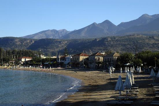 Peloponnese, Greece: Stoupa beach