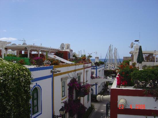 La Venecia de Canarias : Roof terrace view