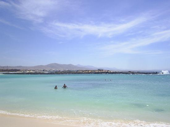 Fuerteventura, İspanya: Lagoon Beach, El Cotillo, Fuereventura