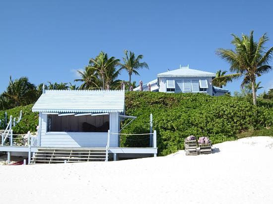 Pink Sands Beach : le bar et le restaurant