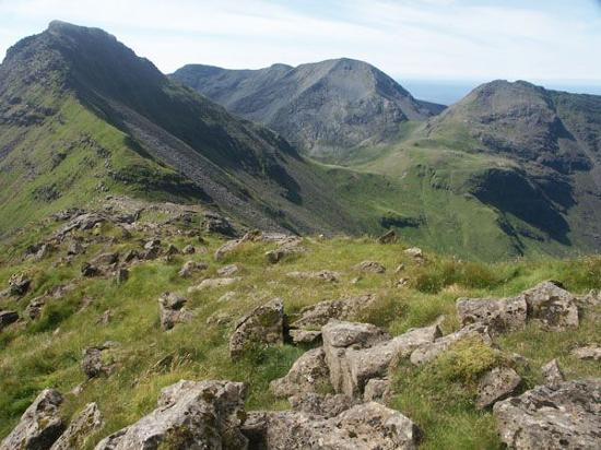 Slain's Castle: Scottish Mountains - Island of Rhum