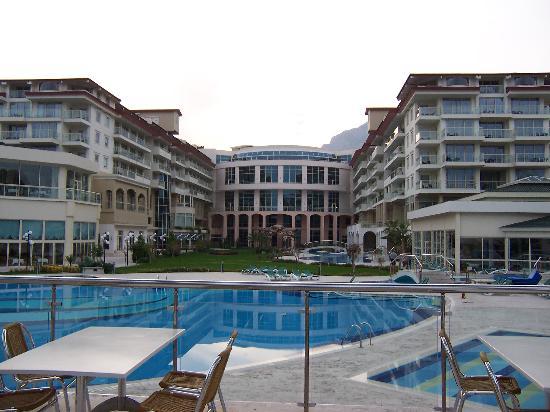 Barut Kemer : The Hotel Exterior Rear