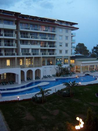 Barut Kemer: Hotel Rear Exterior