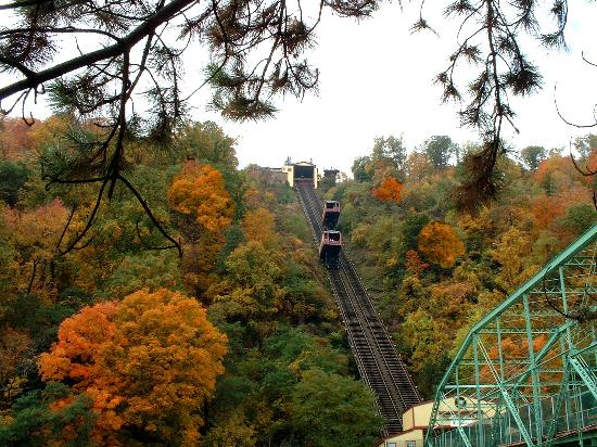 Johnstown, Pensylwania: Incline Plane, steepest in world
