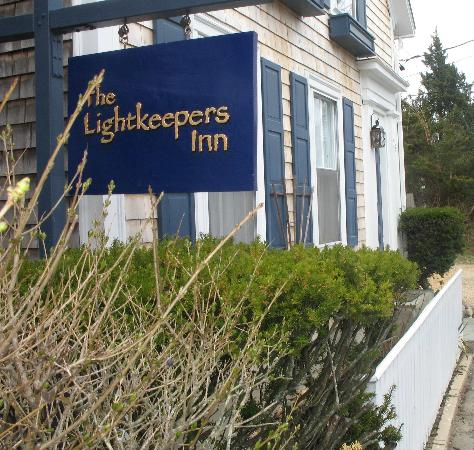 The Lightkeepers Inn : View from Simpson's Lane