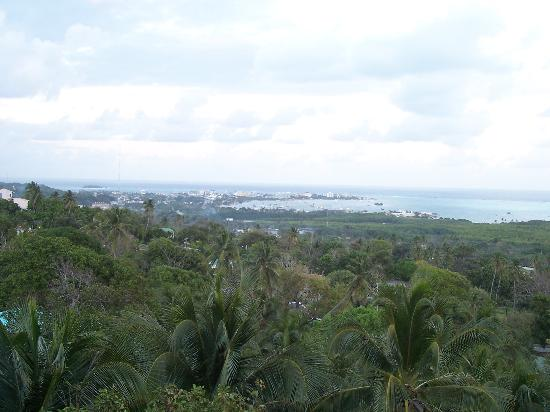 Hotel Casablanca: View from Highest Point on Island