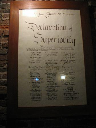 Newes From America Pub: Declaration of Superiority