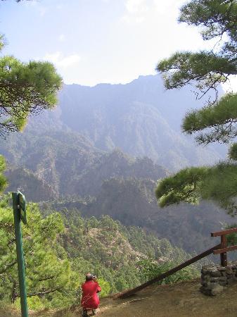 Caldera de Taburiente National Park: A view inside the caldera