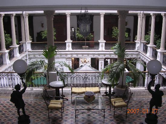 Gran Hotel de Merida: Interior Courtyard
