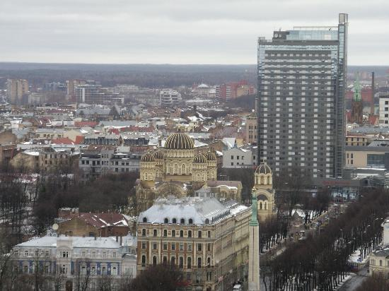 Europa Royale Riga : Reval Hotel and Orthodox Cathedral