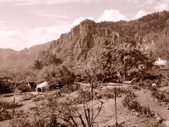 Villas Valle Mistico: La vista desde mi balcon...